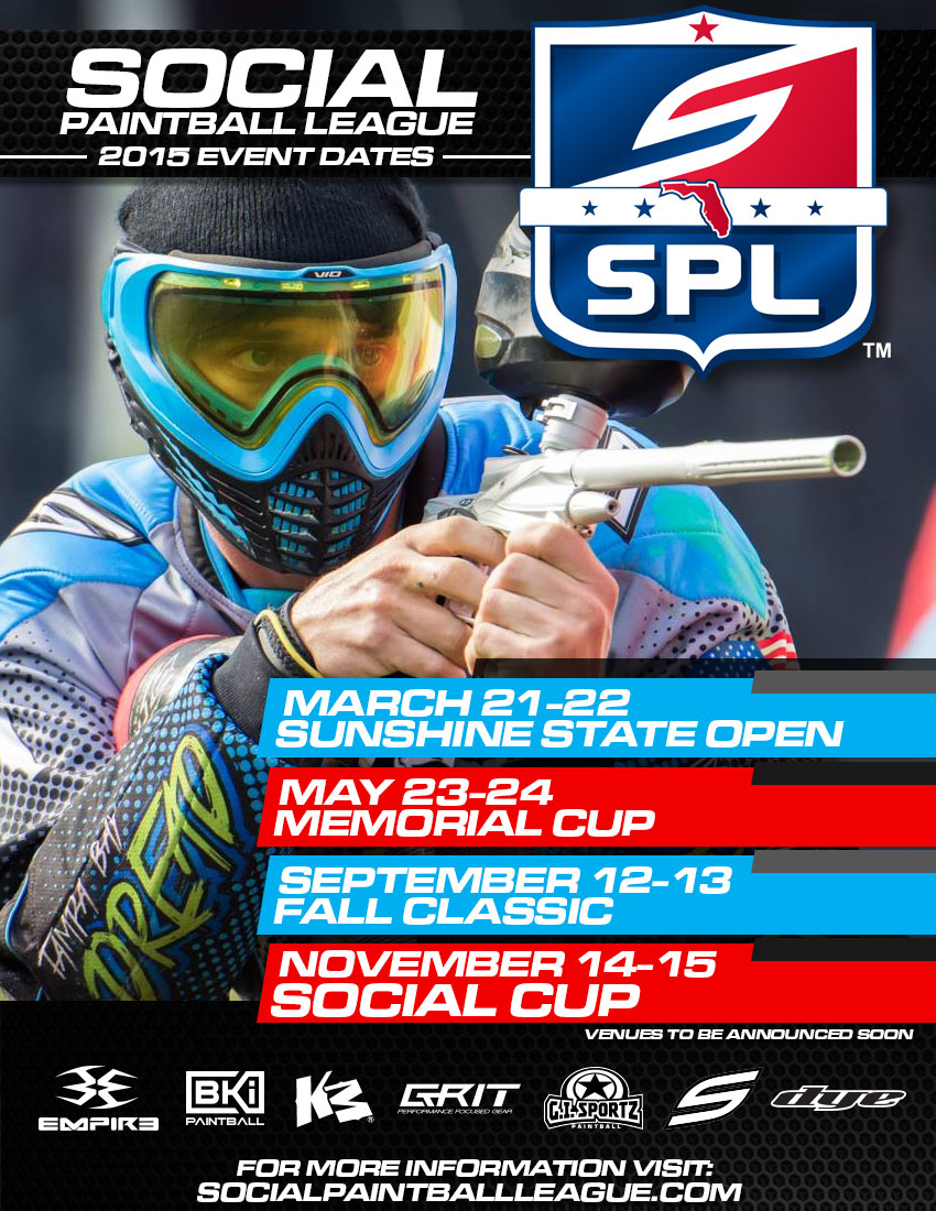 2015 SPL Event Dates