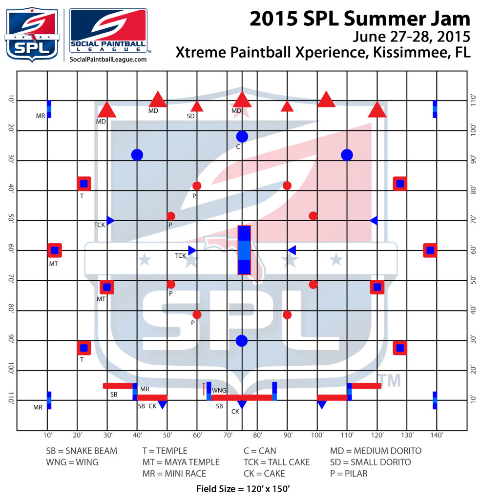 2015 SPL Summer Jam layout