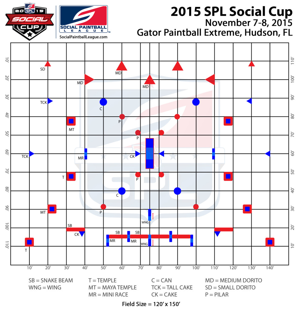 2015 SPL Social Cup layout