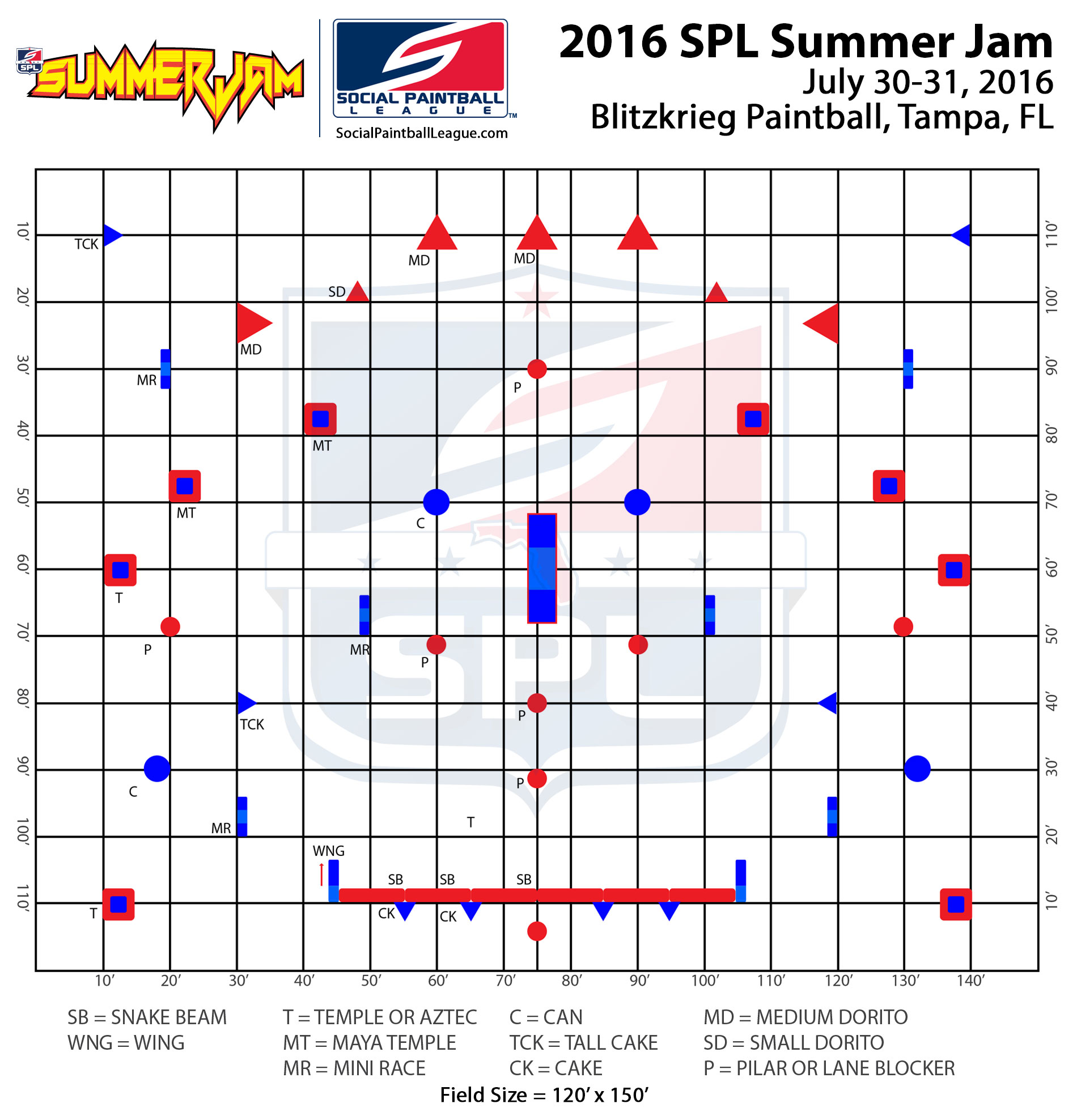2016 SPL Summer Jam Layout – Official