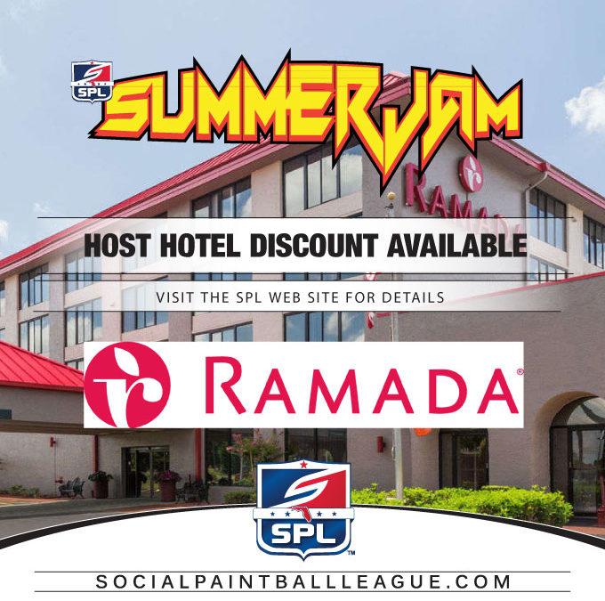 2017 SPL Summer Jam Host Hotel – Ramada Lakeland