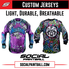 Social Paintball Custom Jerseys