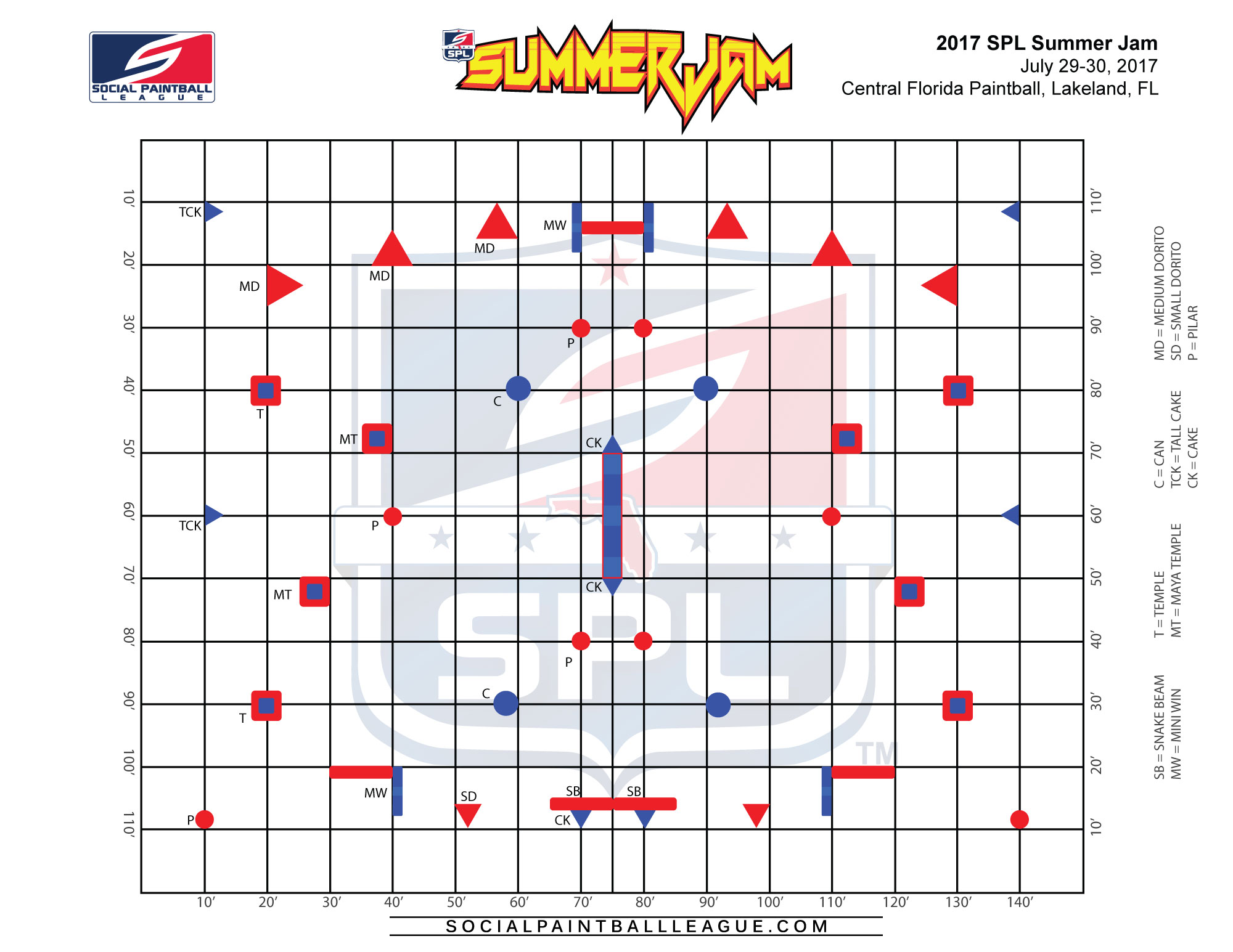 spl summer jam layout
