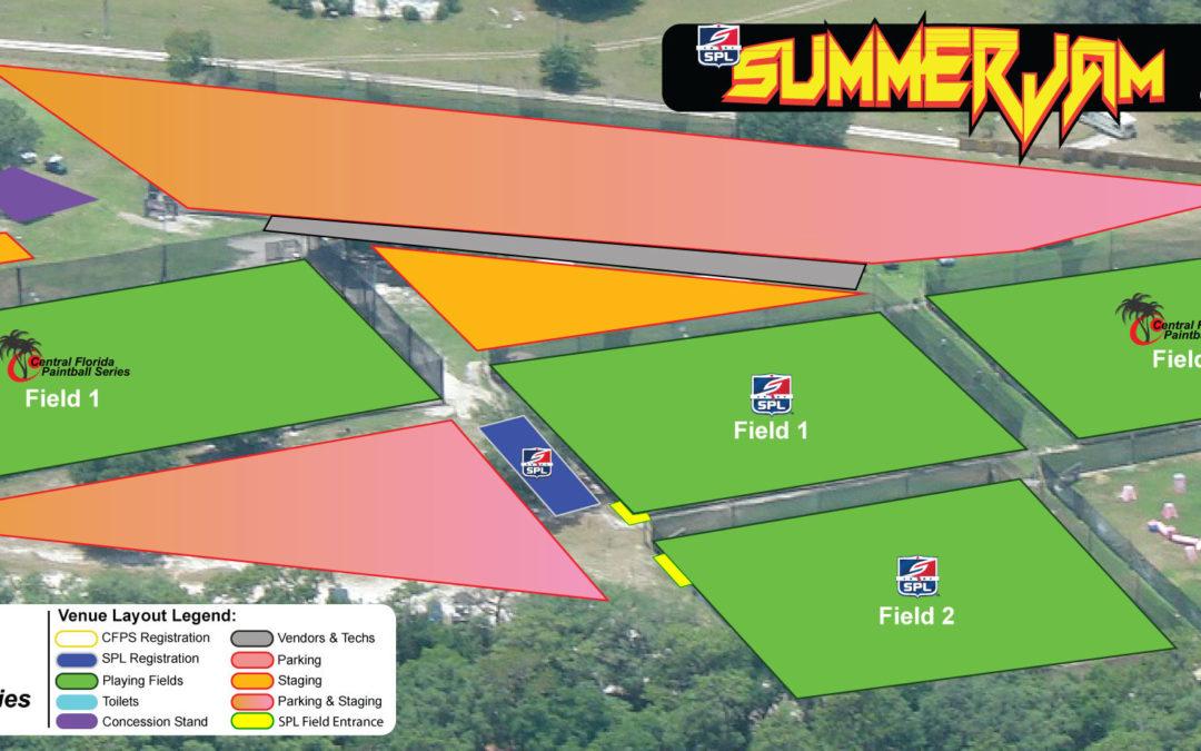 2017 SPL Summer Jam Venue Layout