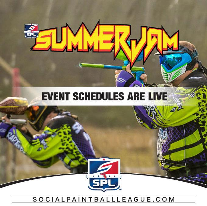 2017 SPL Summer Jam Event Schedule