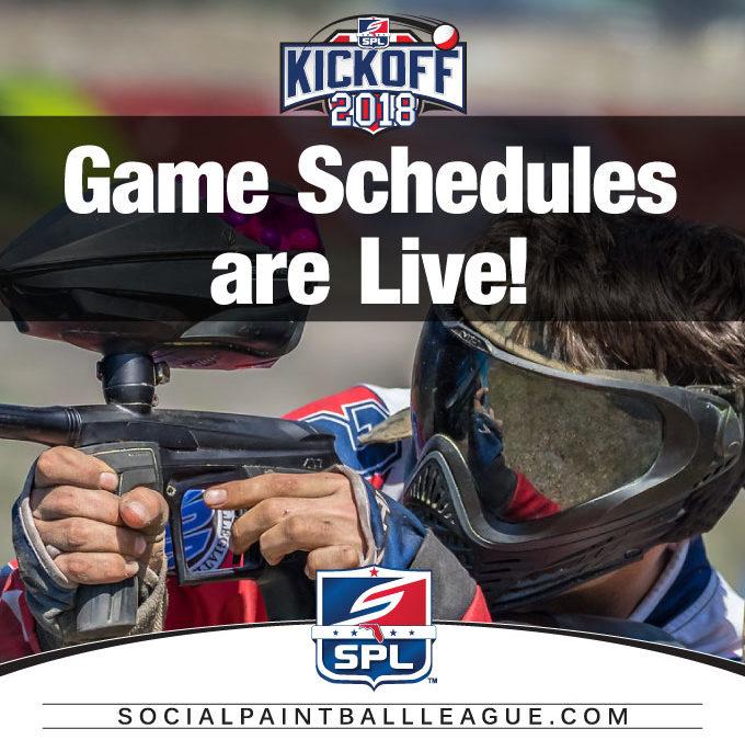 2018 SPL Wicked Sports Kickoff Games Schedules