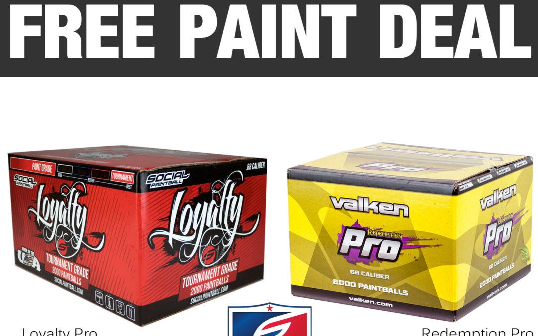 Free Paint Promotion