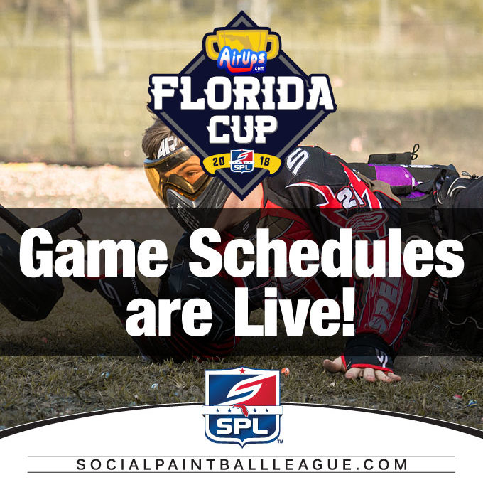 2018 SPL AirUps Florida Cup Games Schedules